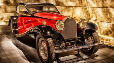 Bugatti luxus Auto - Veteranauto